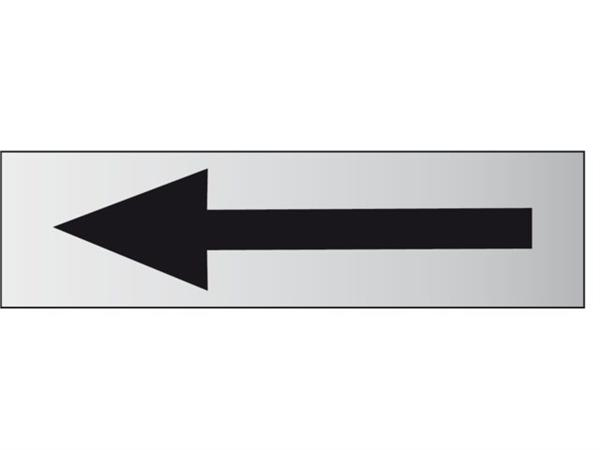 INFOBORD PICTOGRAM PIJL 165X44MM