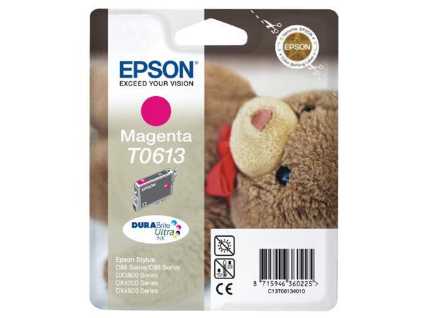 INKCARTRIDGE EPSON T061340 ROOD