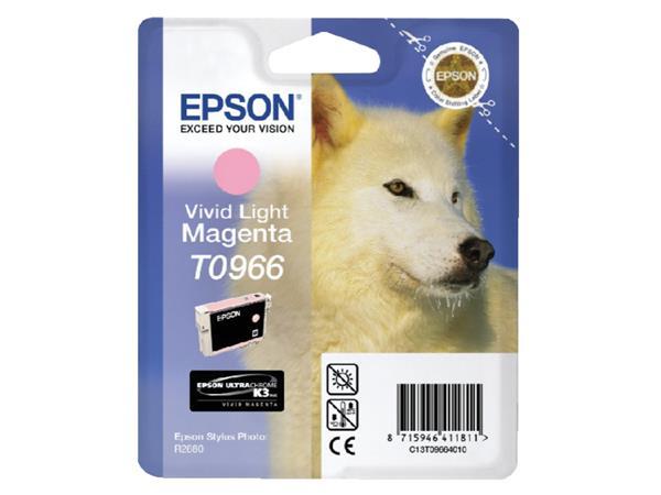 INKCARTRIDGE EPSON T096640 LICHT ROOD