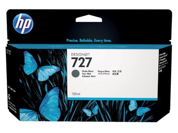 INKCARTRIDGE HP 727 B3P22A HC MAT ZWART