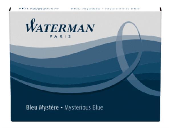 INKTPATROON WATERMAN INTERNATIONAAL BLAUW/ZWART