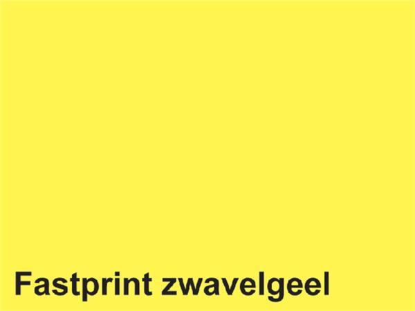 KOPIEERPAPIER FASTPRINT A4 80GR ZWAVELGEEL 500VEL