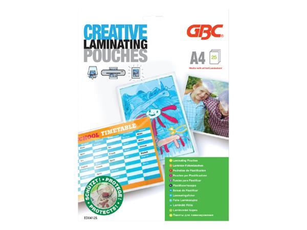 LAMINEERHOES GBC CREATIVE A4 2X125MICRON