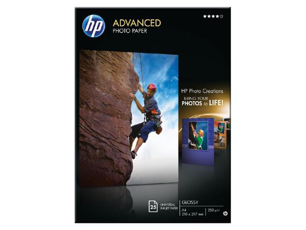 FOTOPAPIER HP Q5456A A4 250GR GLANS
