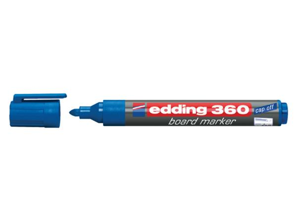 VILTSTIFT EDDING 360 WHITEBOARD ROND 1.5-3MM BLAUW
