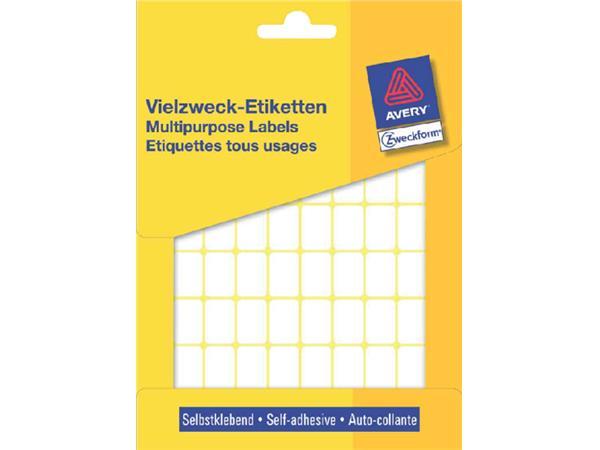 ETIKET AVERY ZWECK 3312 18X12MM 1800ST