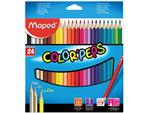 Maped kleurpotlood Color'Peps, 24 potloden