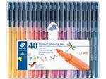 Staedtler viltstift Triplus Color, opstelbare box met 40 kleuren