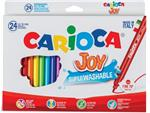 Carioca viltstift Superwashable Joy, 24 stiften in een kartonnen etui