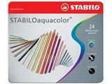 Stabilo kleurpotlood STABILOaquacolor, 24 potloden