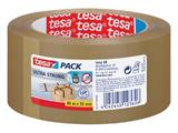 Tesapack Ultra Strong, ft 50 mm x 66 m, PVC, bruin