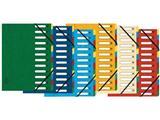 Exacompta voorordner Harmonika, 12 vakken, geassorteerde kleuren