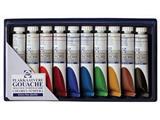Talens plakkaatverf Extra Fijn tube van 20 ml, doos met 10 tubes in geassorteerde kleuren