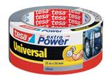 Tesa extra Power Universal, ft 50 mm x 25 m, grijs