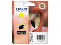 Epson inktcartridge T0874 geel, 1160 pagina's - OEM: C13T08744010