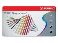 Stabilo kleurpotlood Aquacolor 36 potloden