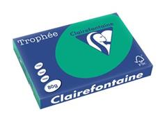Clairefontaine Trophée Intens A3, 80 g, 500 vel, dennengroen