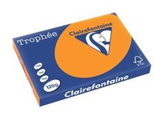 Clairefontaine Trophée Intens A3, 120 g, 250 vel, fel oranje