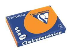 Clairefontaine Trophée Intens A3 fel oranje, 160 g, 250 vel