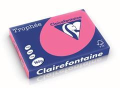 Clairefontaine Trophée Intens A3 fuchsia, 160 g, 250 vel