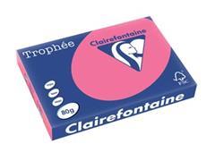 Clairefontaine Trophée Intens A3, 80 g, 500 vel, fuchsia