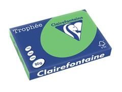 Clairefontaine Trophée Intens A3, 80 g, 500 vel, grasgroen