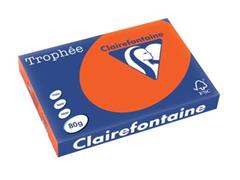 Clairefontaine Trophée Intens A3, 80 g, 500 vel, kardinaalrood