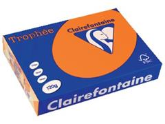 Clairefontaine Trophée Intens A4, 120 g, 250 vel, feloranje