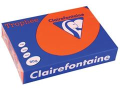 Clairefontaine Trophée Intens A4, 80 g, 500 vel, kardinaal rood