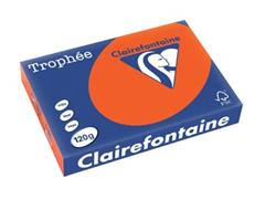 Clairefontaine Trophée Intens A4, 120 g, 250 vel, kardinaalrood