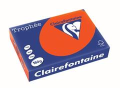 Clairefontaine Trophée Intens A4, 160 g, 250 vel, kardinaalrood