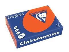 Clairefontaine Trophée Intens A4, 210 g, 250 vel, fel oranje