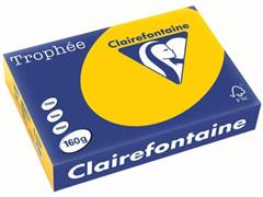 Clairefontaine Trophée Intens A4, 160 g, 250 vel, zonnebloemgeel