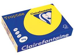 Clairefontaine Trophée Intens A4, 80 g, 500 vel, zonnegeel