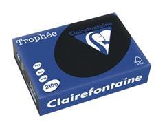 Clairefontaine Trophée Intens A4, 210 g, 250 vel, zwart