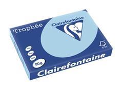 Clairefontaine Trophée Pastel A3, 80 g, 500 vel, blauw