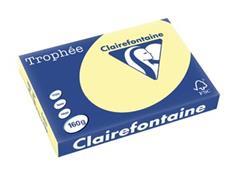 Clairefontaine Trophée Pastel A3, 160 g, 250 vel, kanariegeel