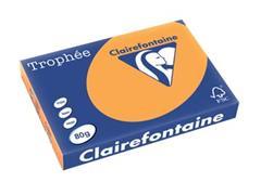 Clairefontaine Trophée Pastel A3, 80 g, 500 vel, oranje