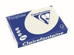 Clairefontaine Trophée Pastel A3, 160 g, 250 vel, parelgrijs