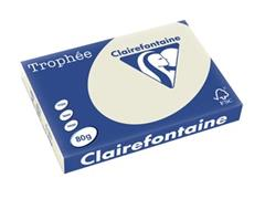 Clairefontaine Trophée Pastel A3, 80 g, 500 vel, parelgrijs