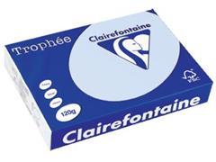 Clairefontaine Trophée Pastel A4, 120 g, 250 vel, azuur
