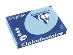 Clairefontaine Trophée Pastel A4, 120 g, 250 vel, blauw