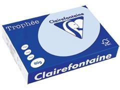 Clairefontaine Trophée Pastel A4, 80 g, 500 vel, blauw