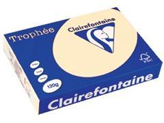 Clairefontaine Trophée Pastel A4, 120 g, 250 vel, crème