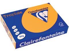 Clairefontaine Trophée Pastel A4, 80 g, 500 vel, goudgeel