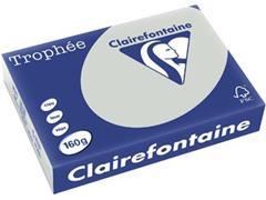 Clairefontaine Trophée Pastel A4, 160 g, 250 vel, lichtgrijs