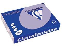 Clairefontaine Trophée Pastel A4, 80 g, 500 vel, lila