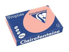 Clairefontaine Trophée Pastel A4, 120 g, 250 vel, perzik