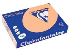 Clairefontaine Trophée Pastel A4, 80 g, 500 vel, zalm