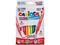Carioca feutre bi-pointe Birello Superwashable 12 feutres